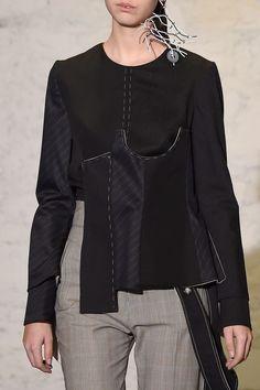 Anne Sofie Madsen at Paris Fashion Week Fall 2016 - Details Runway Photos