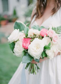 Garden roses | Photography: Diana McGregor - www.dianamcgregor.com Read More: http://www.stylemepretty.com/california-weddings/2015/03/14/elegant-backyard-wedding/