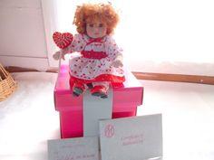 Marie Osmond I Love You Lolli Tiny Tots Doll COA + Necklace  #MarieOsmond #DollswithClothingAccessories