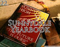 Sunnydale Yearbook