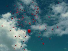 red balloons | Tumblr