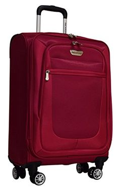 19e384204 Luggage Sets Collections | Ricardo Eureka Wheelaboard Deluxe Superlight 21  Luggage Spinner Carry On Raspberry -- More info could be found at the image  url.