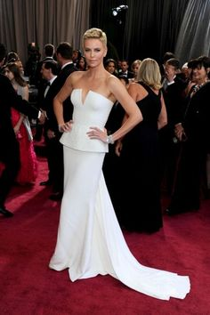 Angelic, but bold. Charlize Theron + 10 more best-dressed Oscars picks