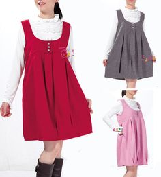 4c7d475ff6b Spring Autumn and Winter Maternity Clothing Pregnante Cute Fashion Woolen  Doll Dress Pregnant Tank Dresses Gravidas Clothes 2013