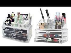 Top 5 Best Makeup Organizer Reviews   Best Makeup Storage 2016
