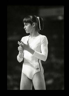 Nadia Comaneci, JO de Montreal, 1976, par Raymond DEPARDON