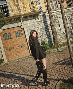 F(x) Krystal – InStyle Magazine January Issue Krystal Jung, Jessica & Krystal, Jessica Jung, Korean Photography, 54 Kg, Instyle Magazine, Poses, Korean Actresses, Ulzzang Girl