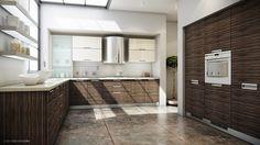 """Zebrano Kitchen"" by Mark Lester Ocampo   http://www.forum.cgramp.com/showthread.php?497-Zebrano-Kitchen"