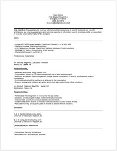 Security Engineer Resume Army Intelligence Analyst Resume  Resume  Job  Pinterest  Army .