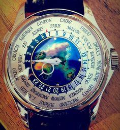 La Patek Philippe World Time 5131G d'un de nos lecteurs - Le Guide des Montres