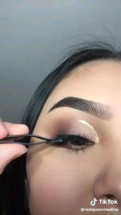 Bronze Eye Makeup, Eye Makeup Steps, Makeup Eye Looks, Beautiful Eye Makeup, Eye Makeup Art, Natural Eye Makeup, Eyebrow Makeup, Skin Makeup, Eyeshadow Makeup