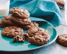 Get Food Network Kitchen's Chocolate Chocolate Chip Cookies Recipe from Food Network