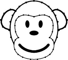 aap-borduurkaart Card Patterns, Quilt Patterns Free, Preschool Crafts, Crafts For Kids, Baby Posters, String Art Patterns, Wood Burning Patterns, Jungle Safari, Diamond Art
