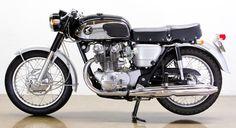 '65 Honda CB450, 'Black Bomber' | LOSSA ENGINEERING