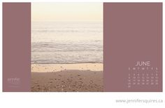 June 2013 Desktop Calendar - You can download yours free on our blog. Happy June!