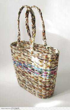 bag, newspapers - zapleciona