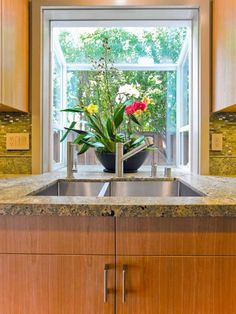 Kitchen Casement Window Over Sink Kitchen Garden Window