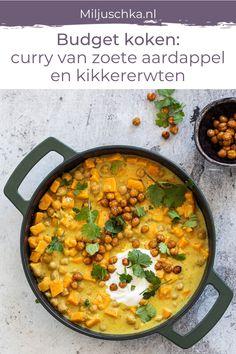 Pureed Food Recipes, Curry Recipes, Veggie Recipes, Feel Good Food, I Love Food, Vegetarian Cooking, Vegetarian Recipes, Healthy Recipes, One Pot Meals