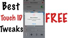 best touch id tweaks for free