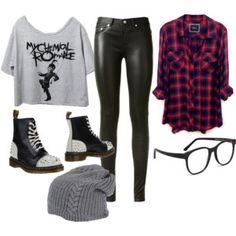 my chemical romance outfits - Google Search