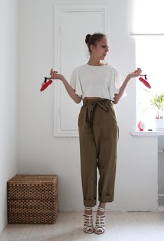 Zara heels - you feelin it