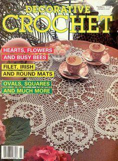 Decorative Crochet Magazines 3 - Gitte Andersen - Álbuns da web do Picasa...FREE MAGAZINE!!
