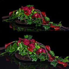 Dekoracja nagrobna Nr 493 - Greendeco Grave Decorations, Flower Decorations, Ikebana, Dried Flowers, Flower Art, Floral Design, Rose, Plants, Flower Arrangements