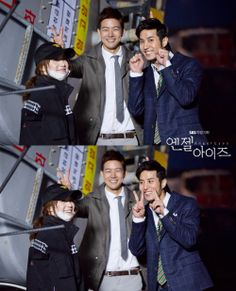 SBS Angel Eyes - Seriously, you guys are so adorable! / Goo Hye Sun, Lee Sang Yoon and Kim Ji Suk