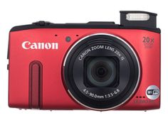 The Canon PowerShot SX280 HS ($329.99) puts 20x zoom in your pocket, along with Wi-Fi, GPS, and 1080p60 video capture. Its an ideal travel camera, and earns our Editors Choice award. [4 out of 5 stars]