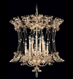 Schonbek - Petit Laurelie 10 Light Crystal Chandelier