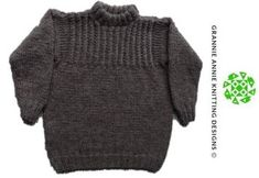 Guernsey Jumper knitting pattern