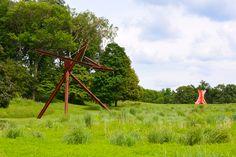. Storm King Art Center, Hudson Valley, Wind Turbine, Acre, Fields, New York City, Sculptures, Landscape, World