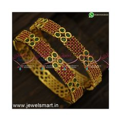 Ruby Stone, Stone Gold, Gold Bangles Design, Gold Plated Bangles, Looking To Buy, Stone Jewelry, Plating, Cover, Ruby Gemstone