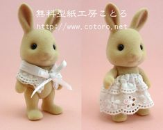 Calico Critters Families, Vbs Crafts, Cute Stationery, Sylvanian Families, Bunny Toys, Family Outfits, Magical Creatures, Sewing Patterns, Clothing Patterns
