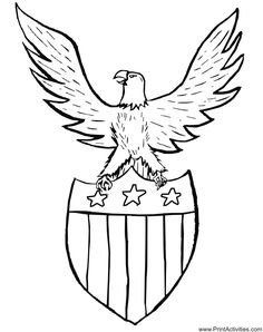 Beautiful Eagle Coloring Book 93 Image result for patriotic