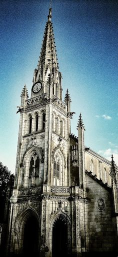 Eglise de Kerentrech - Lorient.  © Copyright Yves Philippe #Bzh