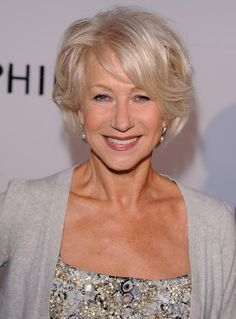 Helen Mirren - oh to be this age and look like a million dollars...