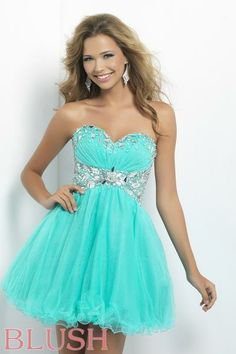 Homecoming dresses by Blush Prom Homecoming Style 9679 #IPAProm