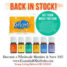 KidScents Essential Oils Collection from Young Living!!! Learn more at http://www.ylwebsite.com/essentialoils4sale/kidscents-oil-collection - Phone orders please give Referral ID 1795137
