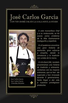 Vin Doré 24K en la Gala SOUL & STARS contra el hambre infantil, junto a seis Estrellas Michelín - Jose Carlos García Chef
