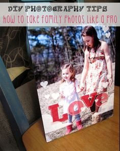 Making memories with DIY portraits