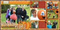 Pumpkin People by LoriJ using Words and Pictures 2-Page #6 from Misty Cato, Sweet Shoppe Designs