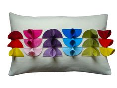 Colour Chart Cushion by Cushlab at Curated @cushlab1 @curatedonline