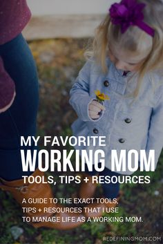 A full list of working mom resources including productivity apps, organization tips, websites, books, podcasts, educational resources, and much more!