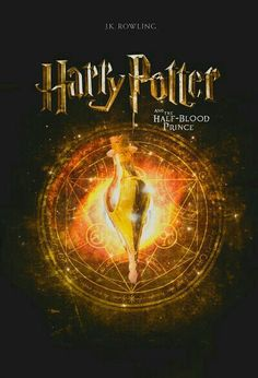 Half blood prince book cover