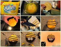 Running away? I'll help you pack.: Bumble Bee Pretzels & Oreos