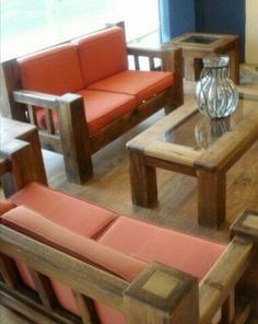 Sofa Furniture, Living Room Furniture, Restaurant Booth Seating, Wooden Sofa Designs, Chinese Furniture, Living Room Storage, Diy Chair, Table And Chairs, Sofa Bed