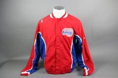 Don MacLean Game Issued/Worn Clippers Warmup Jacket