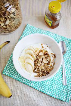 Granola Pan de plátano (haga clic a través de la receta)