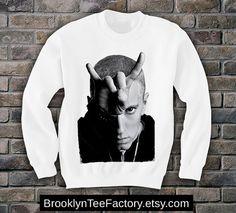 Eminem mens womens Sweatshirt t-shirt supreme homies swag Marshall Mathers hipster Heisenburg on Etsy, $24.90